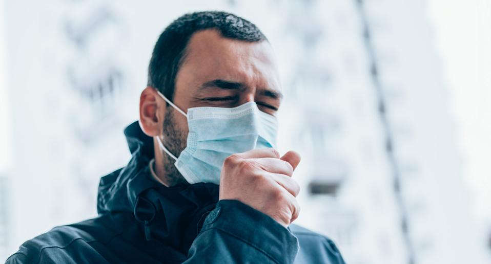 Coughing into a mask was shown to result in significantly less bacteria over a 24 hour period. Source: File/Getty Images