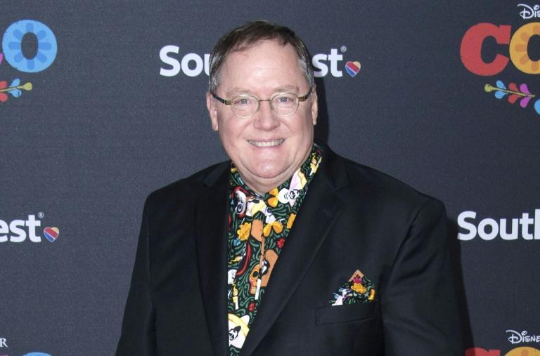 "Oscar winner John Lasseter -- seen here at the premiere of Disney Pixar's ""Coco"" earlier this month -- is the pioneering director of ""Toy Story"" and ""Toy Story 2"""