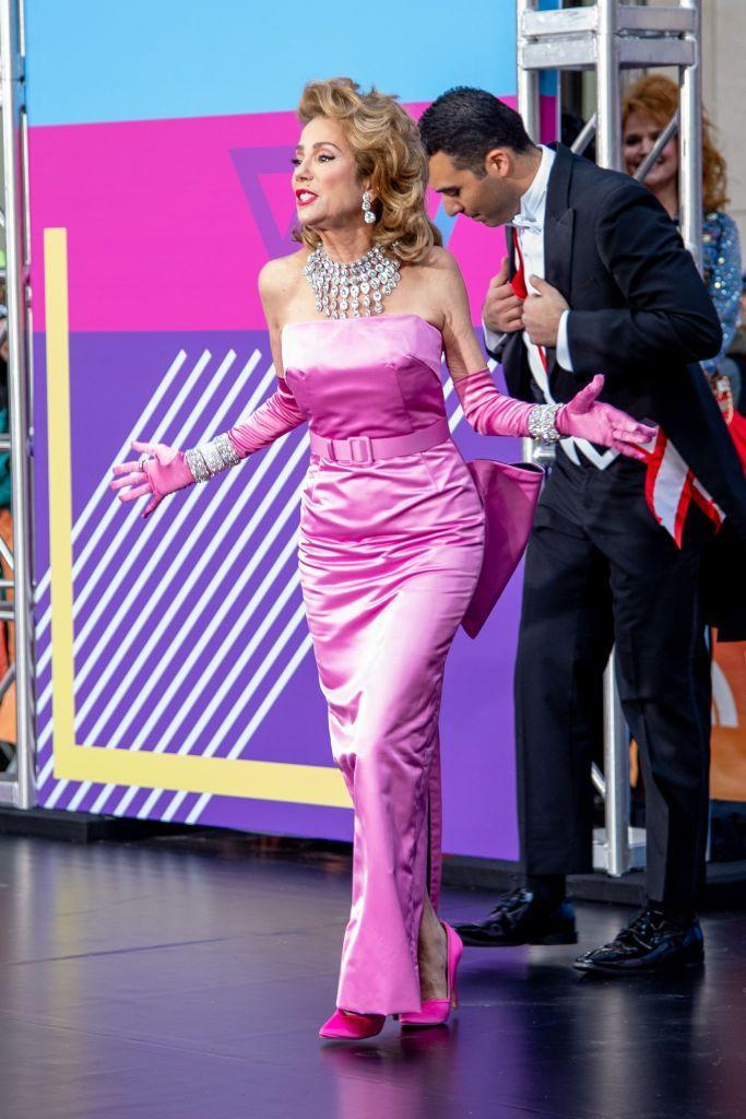 """<p>Kathie Lee Gifford as Madonna during NBC """"Today"""" Halloween 2018 show at Rockefeller Plaza on October 31, 2018 in New York City.</p>"""