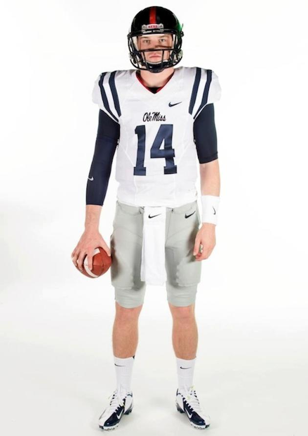 Ole Miss released photos of their new uniforms for the 2013 season and the  players didn t exactly seem excited to be modeling them ccff578a8