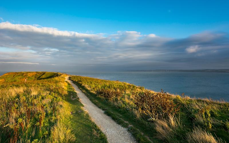 """""""We walked to the Brigg just after high tide and it was windy and wet and felt dangerous and exhilarating"""" - getty"""