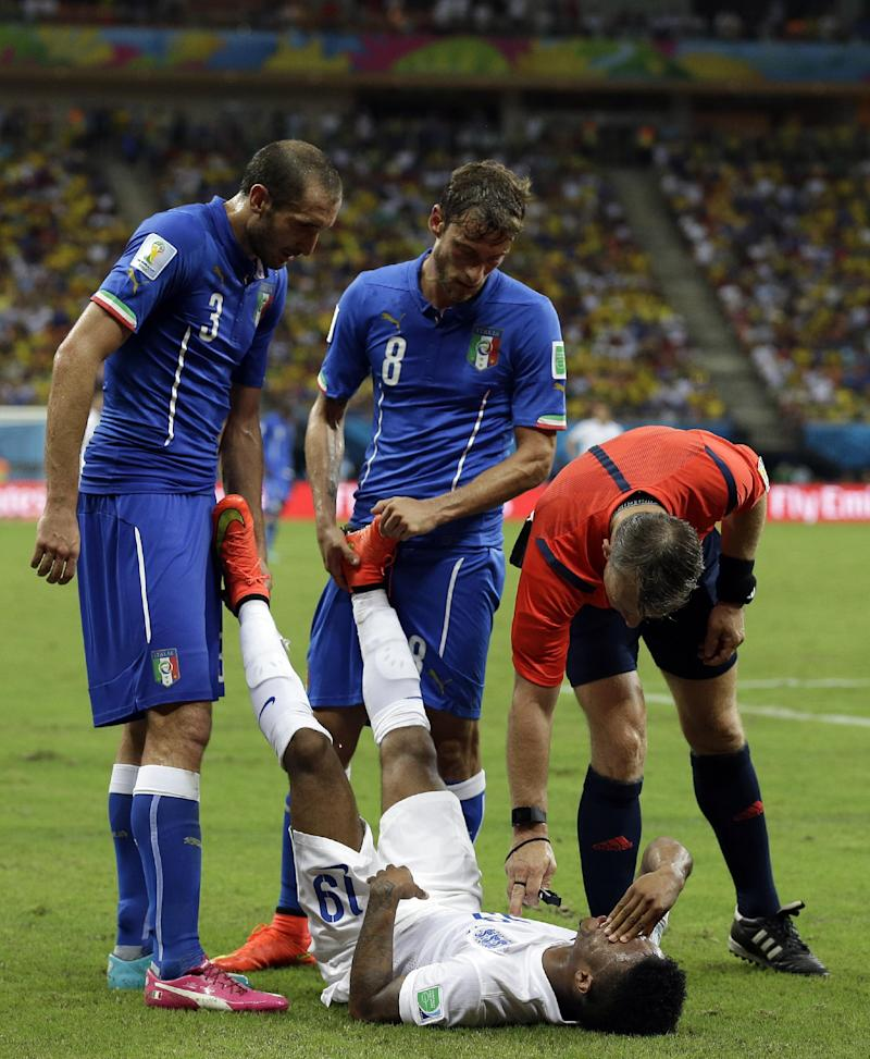 Italy hails its fitness after beating England