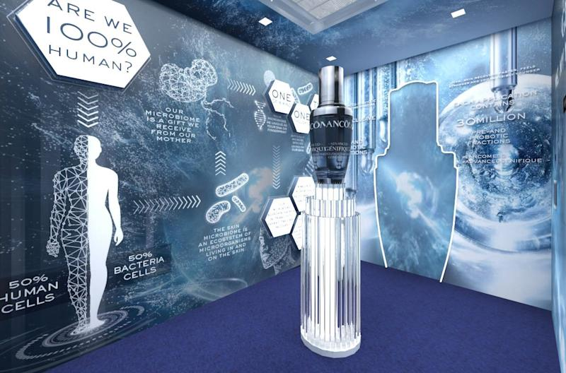 Lancôme Advanced Génifique Discovery Tunnel (PHOTO: Lancôme Singapore)