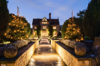 "<p>Raymond Blanc's celebrated Oxfordshire hotel really gets into the Christmas mood, and, despite 2020 doing its best to sap everyone's festive spirit, this foodie favourite isn't going down without a fight. Guests can enjoy Noël with flowing champagne by the fire, wreath-making classes, frost-rimed walks through the beautiful grounds and effortlessly chic decorations courtesy of the resident florist Sofia, who goes to the trouble of adorning each bedroom with its own tree. Monsieur Blanc is basically Santa, with a gift delivered to each guest on Christmas Eve – and he'll even let you enrol in his esteemed cookery school to improve your turkey skills.</p><p>From £1,155 a room a night half-board (<a href=""http://www.belmond.com/le-manoir-aux-quat-saisons"" rel=""nofollow noopener"" target=""_blank"" data-ylk=""slk:belmond.com"" class=""link rapid-noclick-resp"">belmond.com</a>).</p>"