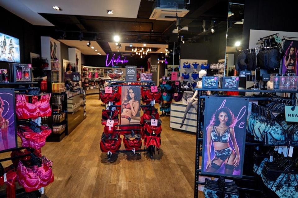 <p>High street retailers such as Ann Summers are preparing to reopen shops from lockdown</p> (ann summers)
