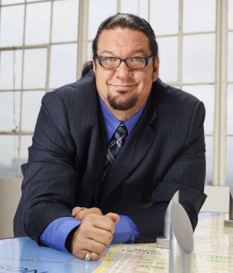 "Penn Jillette will compete on the first ever ""All-Star Celebrity Apprentice."""