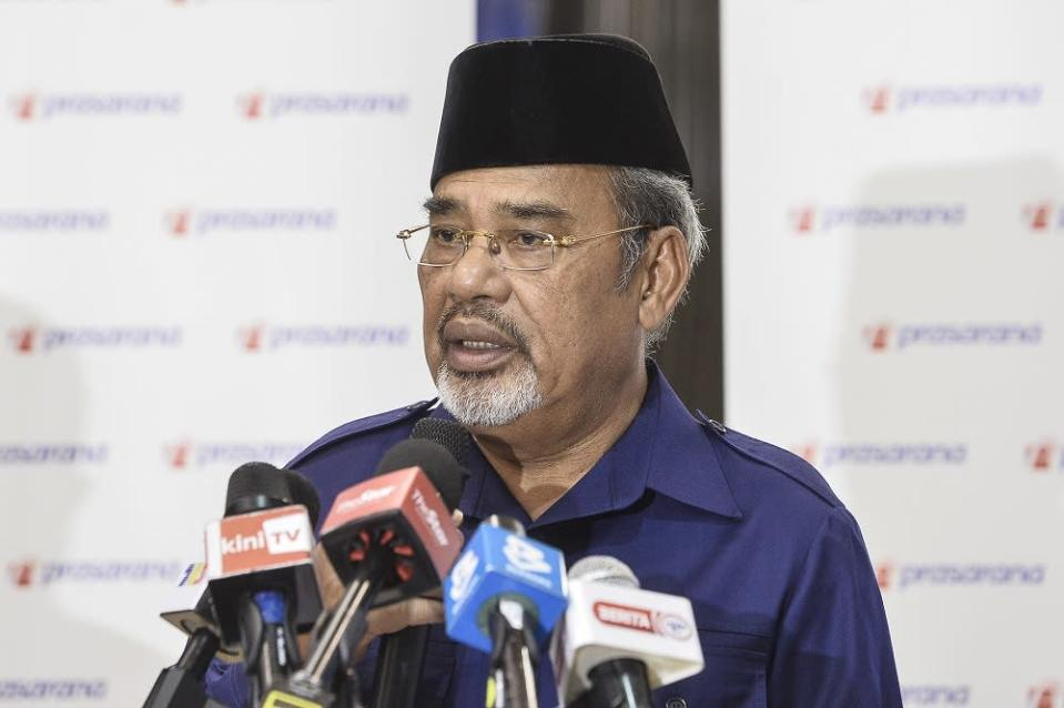 In the statement, Prasarana said Tajuddin was in the office on January 18 for a meeting with several senior officers. ― Picture by Miera Zulyana