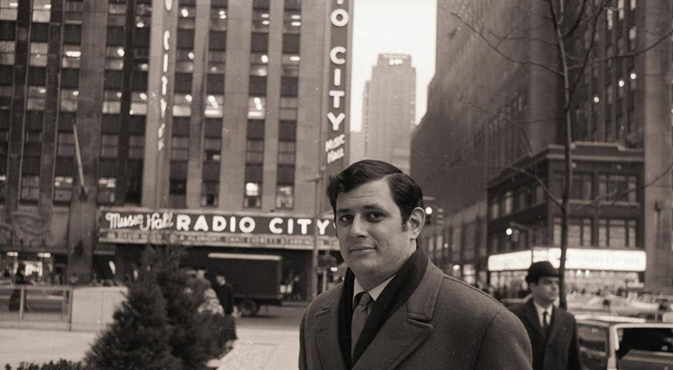 Frank Deford in 1969. (AP)