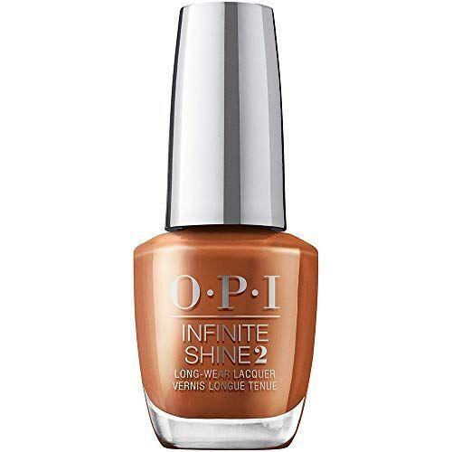 "<p><strong>OPI</strong></p><p>amazon.com</p><p><strong>$13.00</strong></p><p><a href=""https://www.amazon.com/dp/B089R56M2L?tag=syn-yahoo-20&ascsubtag=%5Bartid%7C10055.g.35512857%5Bsrc%7Cyahoo-us"" rel=""nofollow noopener"" target=""_blank"" data-ylk=""slk:Shop Now"" class=""link rapid-noclick-resp"">Shop Now</a></p><p>If you're looking for something unique yet wearable, Edwards loves this OPI nail color in a ""warm amber palette"". The easy-to-wear <strong>earthy chestnut shade melds beautifully with dark skin tones</strong> and works on both hand and feet.</p>"