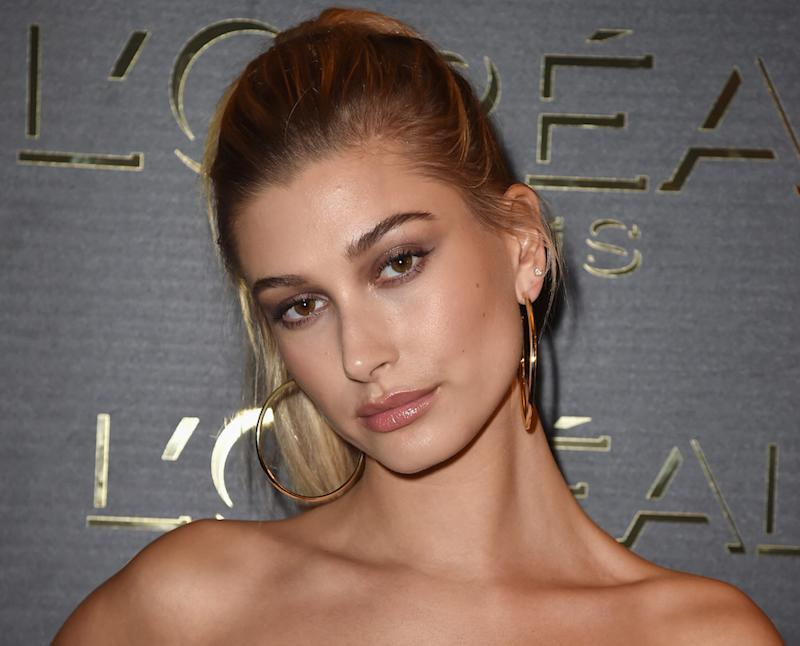 Hailey Baldwin Shows Off Her Poppin Highlighter And Guess What