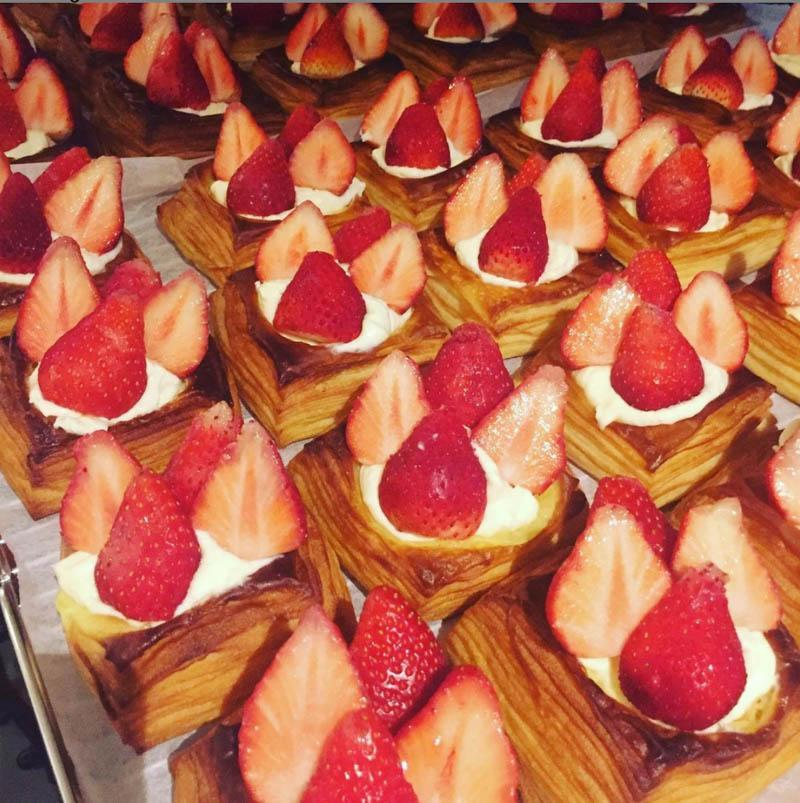 Strawberry pastry from Kamome Bakery