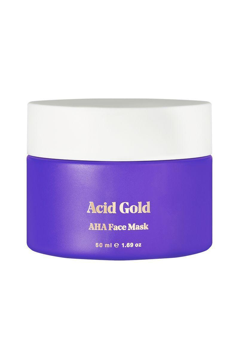 "<p><strong>Acid Gold AHA Resurfacing Face Mask</strong></p><p>bybi.com</p><p><strong>$24.99</strong></p><p><a href=""https://us.bybi.com/collections/mask/products/acid-gold-aha-resurfacing-face-mask"" rel=""nofollow noopener"" target=""_blank"" data-ylk=""slk:Shop Now"" class=""link rapid-noclick-resp"">Shop Now</a></p><p>Starting November 24th, every order of $50 or more will get a free mini Swipe Clean cleansing oil and a tree will be planted in your honor.</p>"