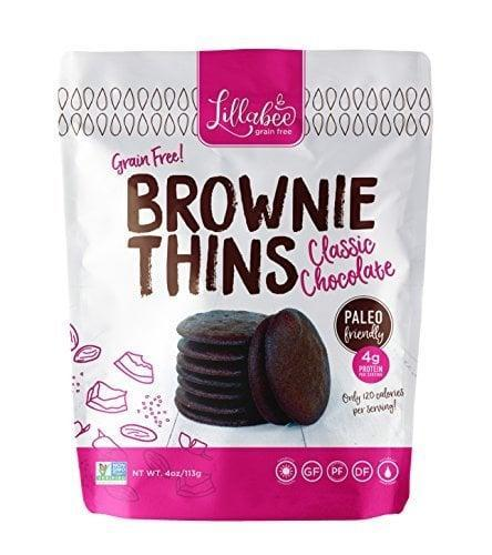 <p>Satisfy your sweet tooth with this <span>Lillabee Brownie Thins</span> ($18 for three).</p>