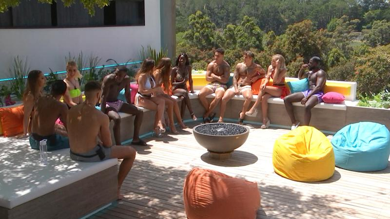 The male Love Island contestants are joined by new female islanders in Casa Amor: ITV2
