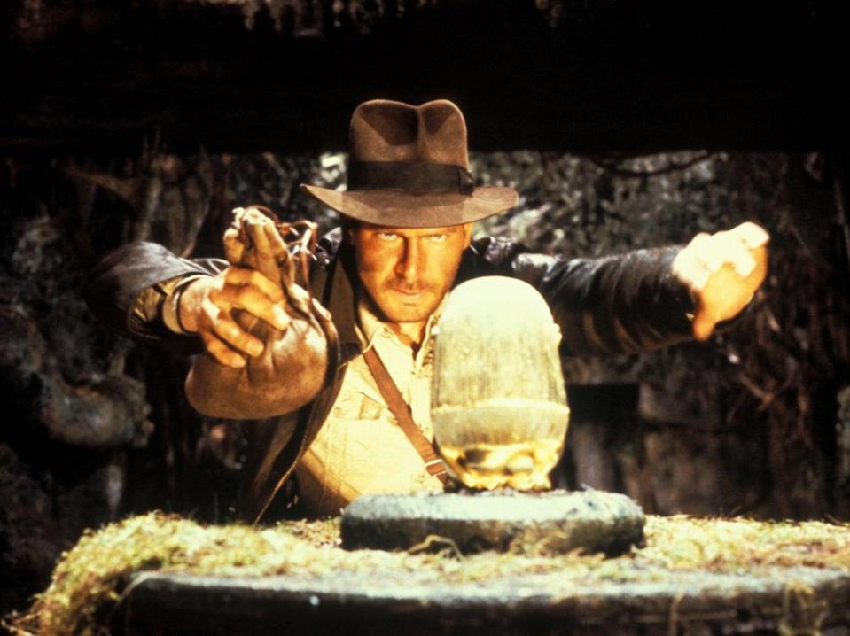 Harrison Ford in Raiders of the Lost Ark (Paramount Pictures)