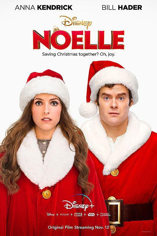 """<p>In this modern classic, Anna Kendrick and Bill Hader play Santa's kids. As it turns out, being Santa isn't all fun and games, and the two must work together to save Christmas.</p><p><a class=""""link rapid-noclick-resp"""" href=""""https://go.redirectingat.com?id=74968X1596630&url=https%3A%2F%2Fwww.disneyplus.com%2Fmovies%2Fnoelle%2F1NOwi3epkH6X&sref=https%3A%2F%2Fwww.countryliving.com%2Flife%2Fentertainment%2Fg5060%2Fbest-disney-christmas-movies%2F"""" rel=""""nofollow noopener"""" target=""""_blank"""" data-ylk=""""slk:STREAM IT ON DISNEY+"""">STREAM IT ON DISNEY+ </a><br></p>"""