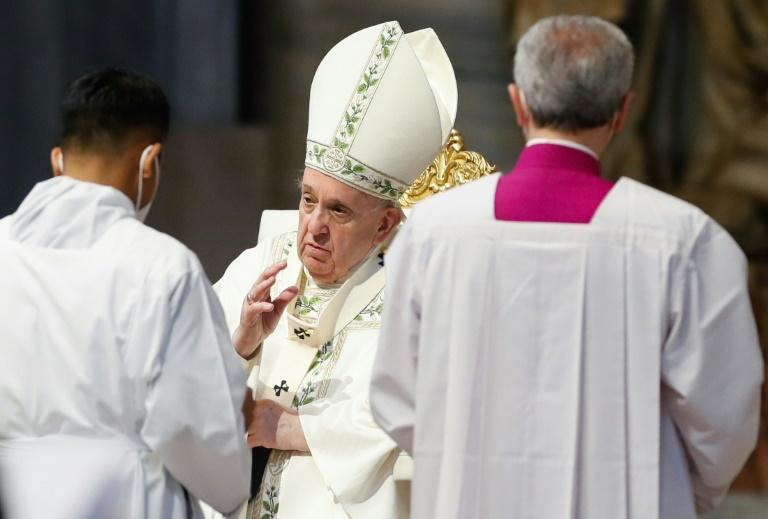Pope Francis celebrated a Holy Mass for the community of Rome's faithful of Myanmar, appealing to the faithful not to lose hope
