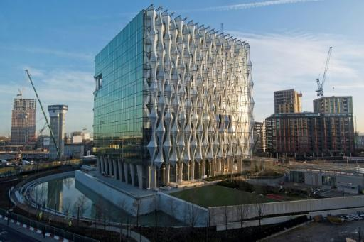 <p>US embassy's new 'off location' digs</p>