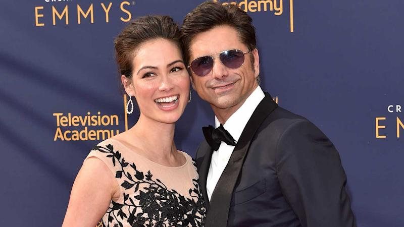 08c2904a757 John Stamos and Caitlin McHugh Can't Stop Missing Son Billy on Date Night  (Exclusive)