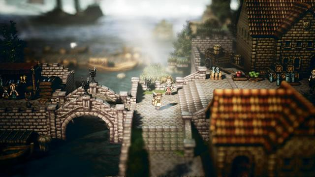 'Octopath' looks like a living, breathing diorama.