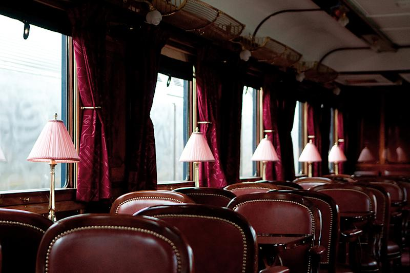 Inside one of the trains. (PHOTO: Orient Express)