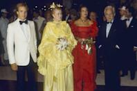<p>The House of Grimaldi at the Red Cross Ball in 1981.</p>
