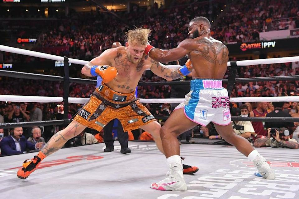 Jake Paul defeated Tyron Woodley earlier this year  (Getty)