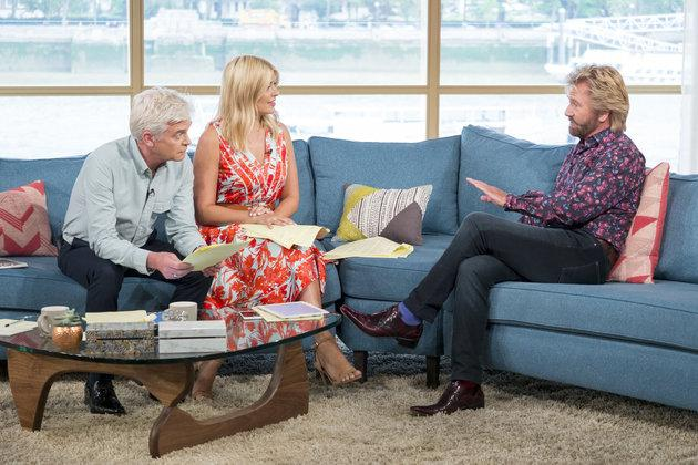 Noel made a controversial appearance on 'This Morning' in 2016