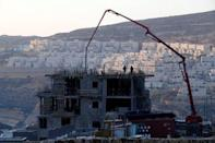 A construction site is seen in the Israeli settlement of Givat Zeev, in the occupied West Bank December 22, 2016. REUTERS/Baz Ratner