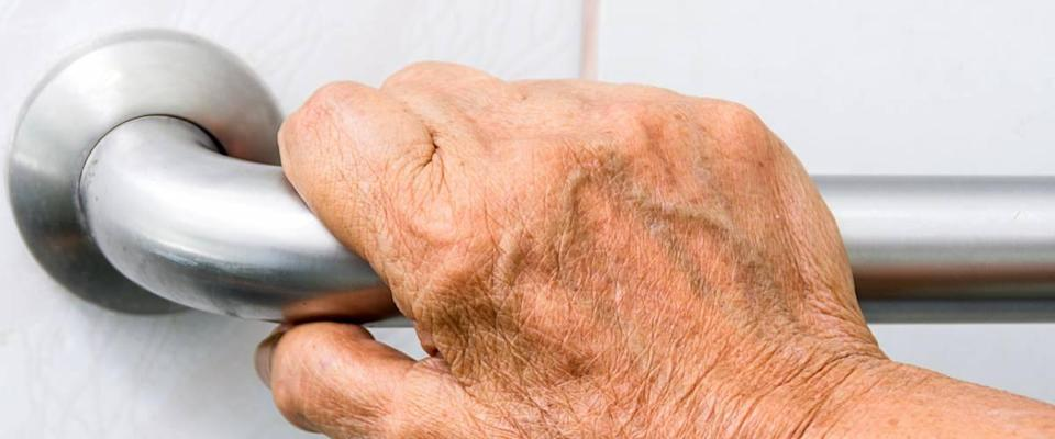 <cite>Myibean / Shutterstock</cite> <br>If your house has safety grab bars for elderly residents, you need to make sure they're really safe.