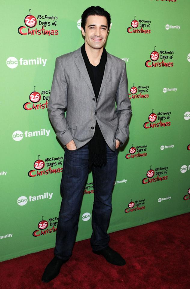 "Gilles Marini of ""Switched at Birth"" attends ABC Family's ""25 Days Of Christmas"" Winter Wonderland event at Rockefeller Center on December 2, 2012 in New York City."