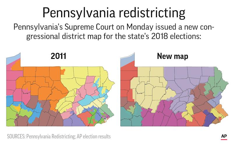Federal judges won't immediately block new Pa. congressional map, set hearing