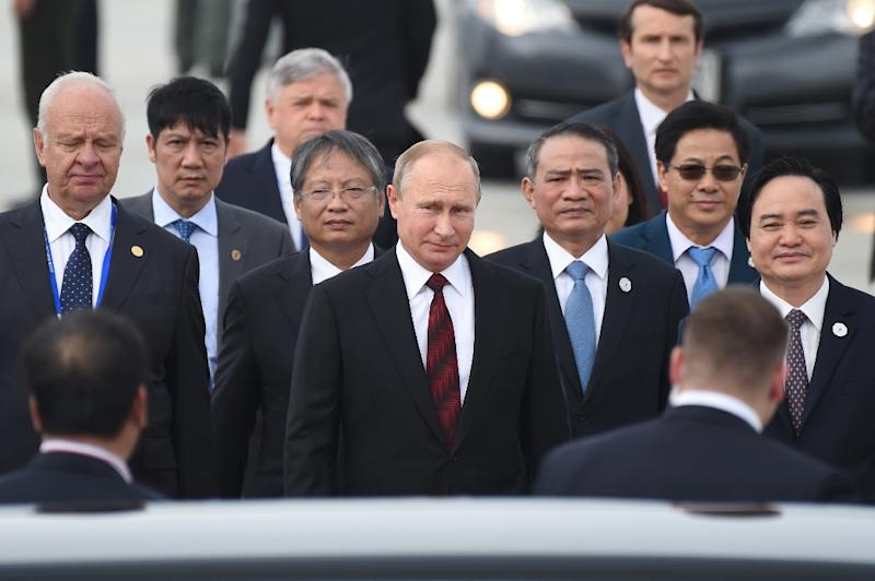 Russia and the United States gave mixed messages about whether their leaders will meet on the sidelines of the APEC summit (AFP Photo/Ye Aung Thu)