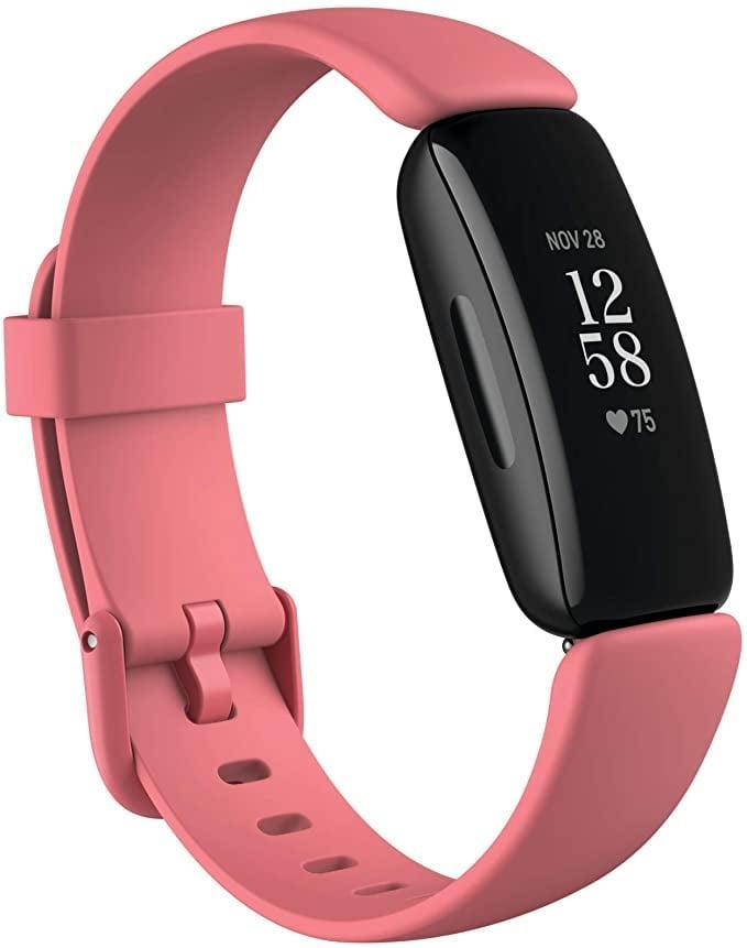 <p>The <span>FitBit Inspire 2 tracker</span> ($100) is great for people who like minimal and sleek accessories. It has a 10-day battery life, is water resistant, tracks all-day activity and over 20 types of exercise, counts steps, and tracks the quality of your sleep. You can also receive all your smartphone notifications on this tracker.</p>