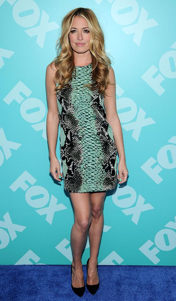 NEW YORK, NY - MAY 13:  Cat Deeley attends FOX 2103 Programming Presentation Post-Party at Wollman Rink - Central Park on May 13, 2013 in New York City.  (Photo by Ilya S. Savenok/Getty Images)