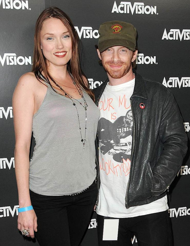 """Newly married couple Seth Green and Clare Grant still look very much like they're enjoying the honeymoon period. Jordan Strauss/<a href=""""http://www.wireimage.com"""" target=""""new"""">WireImage.com</a> - June 14, 2010"""