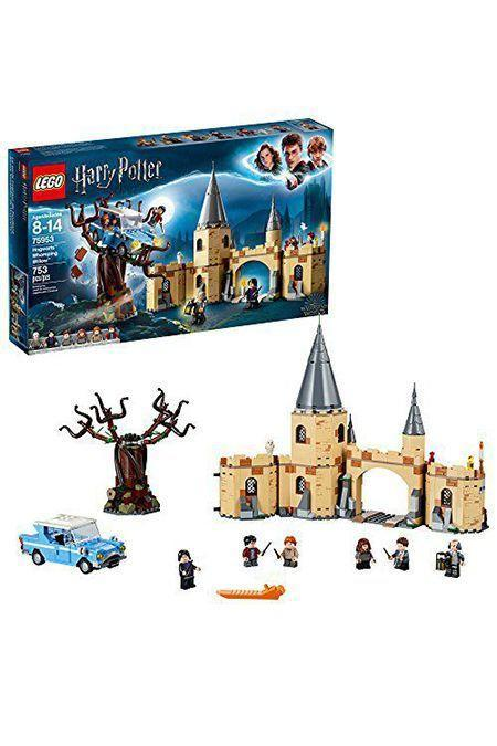 """<p><strong>LEGO</strong></p><p>amazon.com</p><p><strong>$55.48</strong></p><p><a href=""""http://www.amazon.com/dp/B07BKQQDJP/?tag=syn-yahoo-20&ascsubtag=%5Bartid%7C10055.g.23595566%5Bsrc%7Cyahoo-us"""" rel=""""nofollow noopener"""" target=""""_blank"""" data-ylk=""""slk:Shop Now"""" class=""""link rapid-noclick-resp"""">Shop Now</a></p><p>Kids and adults alike won't be able to resist building out their own version of Hogwarts. This set recreates the Whomping Willow scene in <em>The Chamber of Secrets</em>, but once you finish, there are even more <a href=""""https://www.amazon.com/LEGO-6212644-Hogwarts-75954-Building/dp/B07BKPKT2X/?tag=syn-yahoo-20&ascsubtag=%5Bartid%7C10055.g.23595566%5Bsrc%7Cyahoo-us"""" rel=""""nofollow noopener"""" target=""""_blank"""" data-ylk=""""slk:sets to add on"""" class=""""link rapid-noclick-resp"""">sets to add on</a>. </p>"""