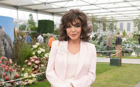 Joan Collins - Credit: Victoria Jones/PA Wire