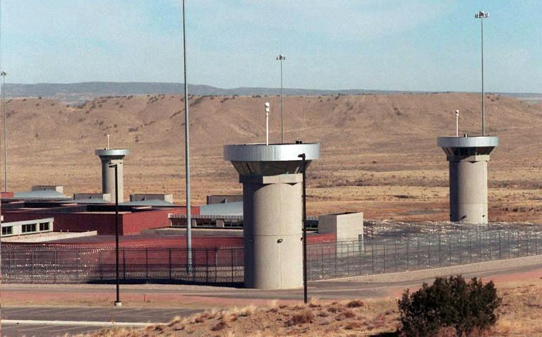 He is incarcerated in one of the United States' highest security prisons, located in Colorado's mountainous desert