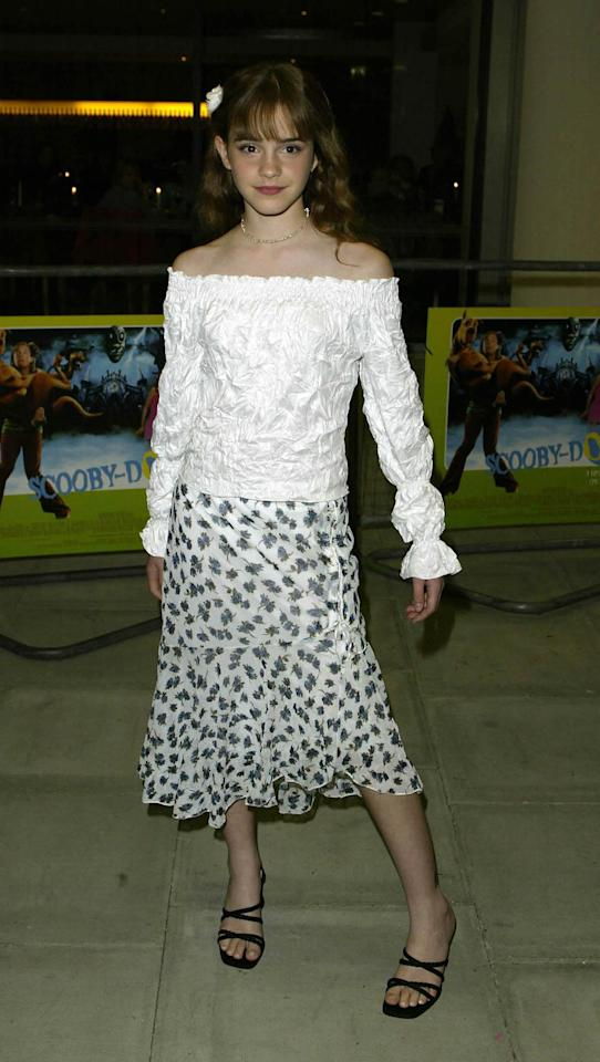 <p>The perfect laid-back look for the premiere of <em>Scooby-Doo</em>on July 3, 2002, in London. (Photo: Getty Images) </p>