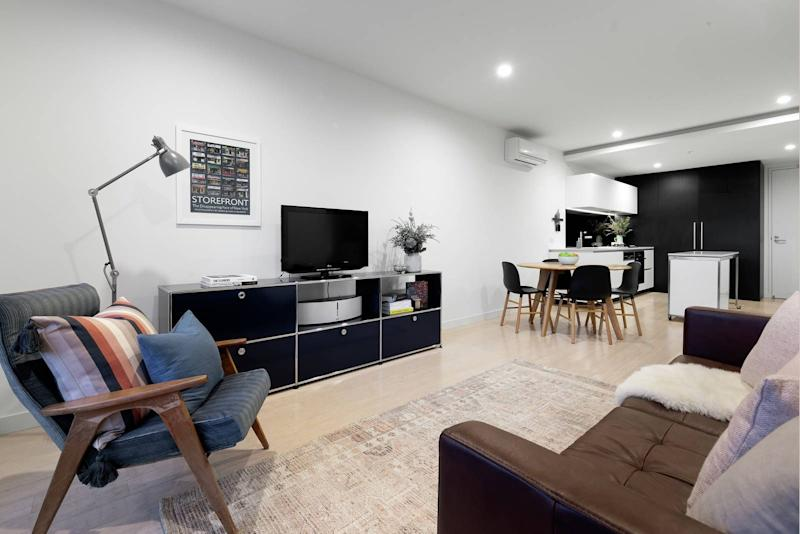 C102/59 John Street, Brunswick East VIC 3057. Source: Domain