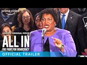 "<p>Guided by the expertise of American politician, lawyer and activist Stacey Abrams All In: The Fight for Democracy digs into the problem with voter suppression in the U.S.</p><p><a href=""https://www.youtube.com/watch?v=t6jVGswLPd8"" rel=""nofollow noopener"" target=""_blank"" data-ylk=""slk:See the original post on Youtube"" class=""link rapid-noclick-resp"">See the original post on Youtube</a></p>"