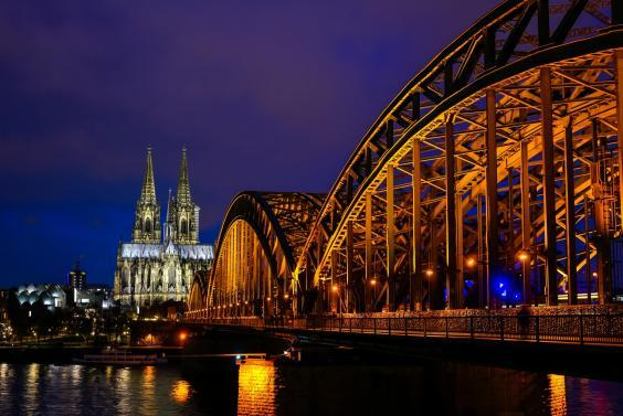Passengers would change trains in Cologne for onward destinations such as London (Getty Images)