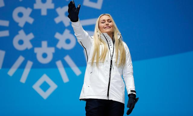 Lindsey Vonn won her third Olympic medal on Wednesday.