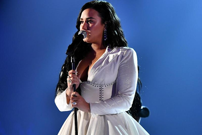 Demi Lovato performs during the 62nd Annual Grammy Awards on 26 January 2020 in Los Angeles, California: Emma McIntyre/Getty Images for The Recording Academy