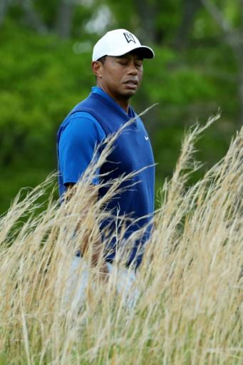 Tiger Woods struggled to a 72 in Thursday's first round of the PGA Championship at Bethpage Black