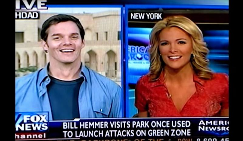 Bill Hemmer and Megyn Kelly on Fox News.