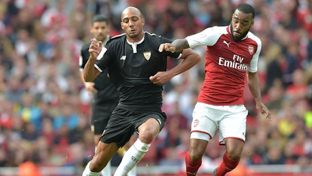 <p>N'Zonzi has been repeatedly linked with a move to Arsenal in recent weeks, and it is no surprise.</p> <br><p>A powerful, imposing presence in midfield, he would provide the steel that the Gunners have long required. He is far more than just a destructive, defensive player though. N'Zonzi is an excellent passer, able to control the tempo of games from deep and would likely fit in with ease at the Emirates.</p> <br><p>With news that he is currently in London, it could be that Arsenal have acted quickly. A release clause of £35m is certainly affordable.</p>