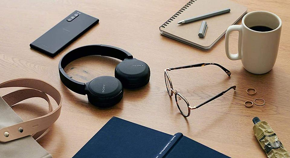 These headphones are perfect for a tech-lover this Christmas. (Sony)