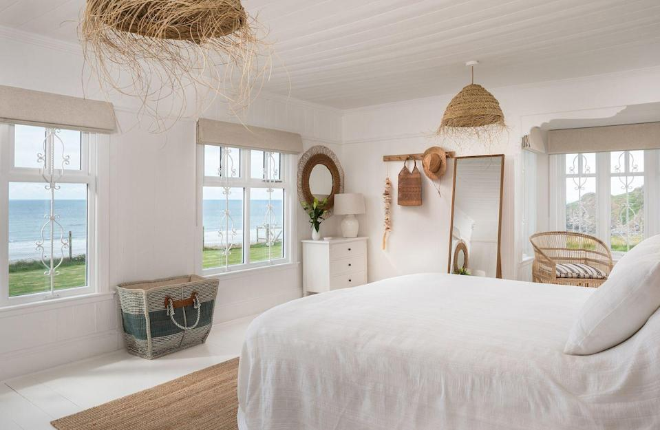 """<p>This beach house looks like the perfect location for an Edwardian TV drama given the fact it takes pride of place on the Northcott clifftop near Bude, Cornwall.</p><p>It has views across the Cornish sea, an Aga, an outdoor shower to rinse out that salty hair after a surf and nearby seafood restaurants. Seclusion is key here, with your only neighbours being those of the dolphin kind in the waves below. </p><p><strong>House for up to 16 people, price £2,650 per week (£1,995 per short break). Enquire for day hire. </strong></p><p><a class=""""link rapid-noclick-resp"""" href=""""https://www.uniquehomestays.com/self-catering/uk/cornwall/bude/northcott-beach-house/"""" rel=""""nofollow noopener"""" target=""""_blank"""" data-ylk=""""slk:BOOK ONLINE"""">BOOK ONLINE</a></p>"""